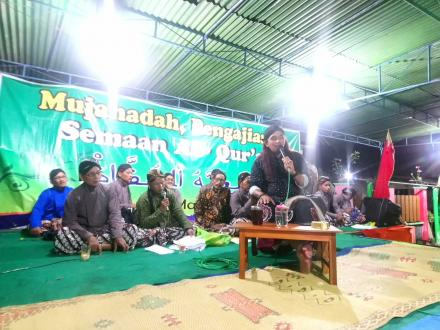 Mujahadah dan Pengajian Umum Jam'iyyatul Khufadz