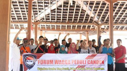 Forum Warga Peduli Canden Deklarasikan Pilurdes dan Pilkada bebas Politik Uang