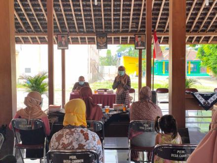 Penyuluhan Bumil Risti Desa Canden