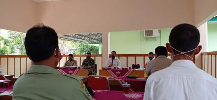 Rapat Koordinasi Penanggulangan Bencana Musim Hujan Lintas Sektor Se-Kecamatan Jetis