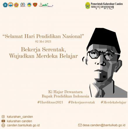 Selamat Hari Pendidkan Nasional 2021