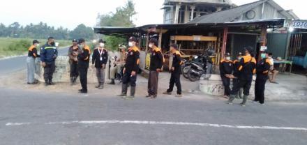 Patroli bersama Pengamanan Penyalahgunaan Petasan